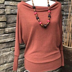 Windsor Cognac Fall/Winter Sweater